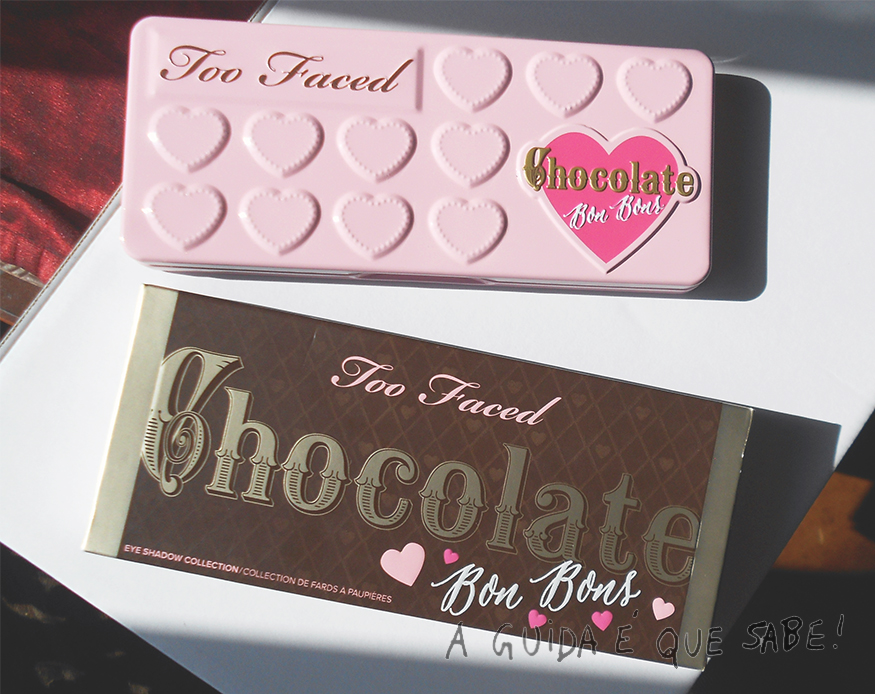 Chocolate Bon Bons Too Faced paleta review swatch maquilhagem makeup maquiagem opinião