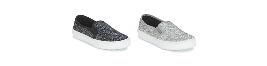 Slip On Victoria shoes ténis sapatilhas zapatos moda fashion ootd lotd look do dia trendy trends glitter