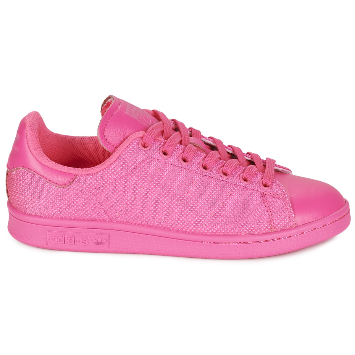 pink adidas stan smith rosa