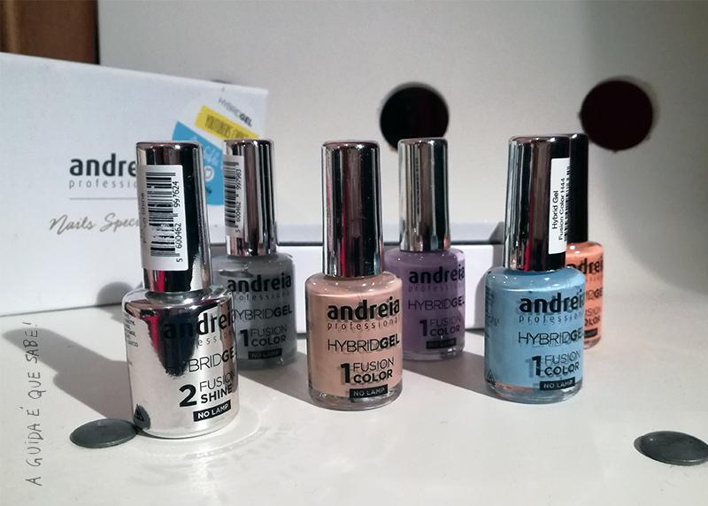hybrid gel andreia professional higicol verniz esmalte unhas swatch resenha review opinião manicure gelinho sem lâmpada forno