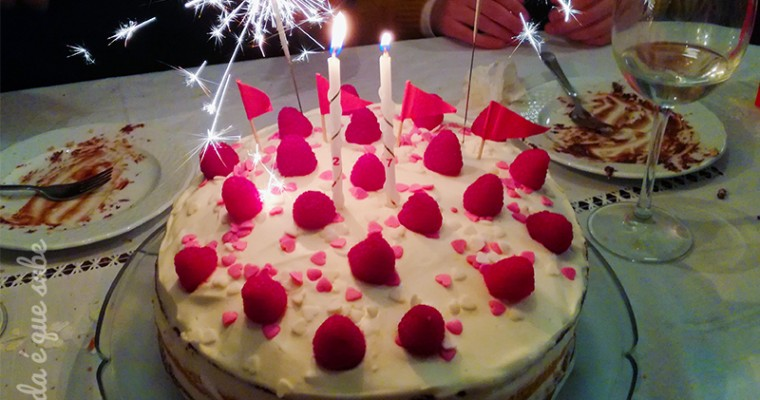 O meu bolo de aniversário
