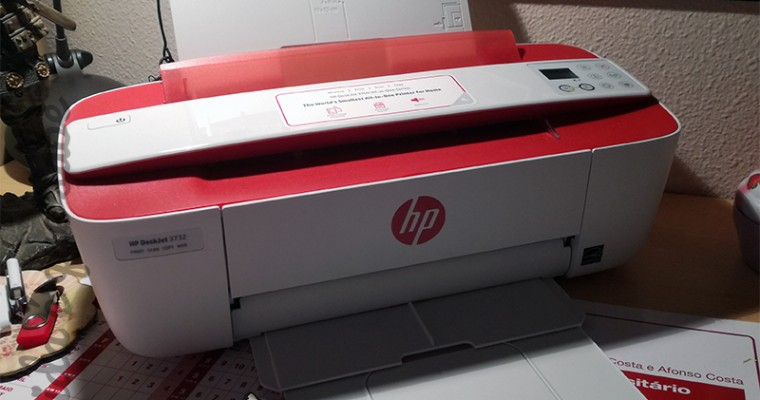 HP DeskJet 3732 – A impressora cá de casa