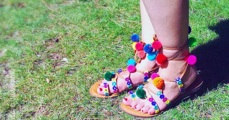 Sandálias trendy: check!