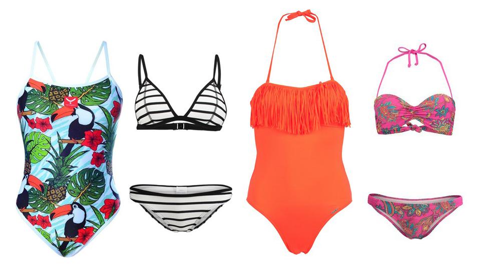 fatos de banho maiô biquini bikini spartoo praia moda piscina verão