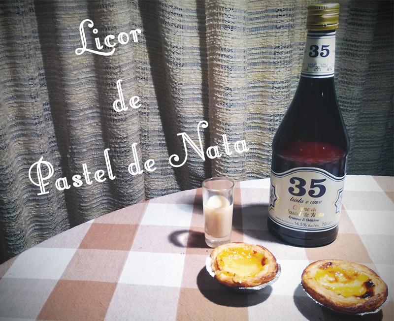 licor de pastel de nata 35 made in portugal