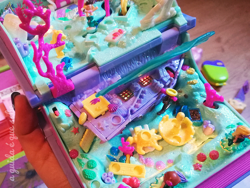 polly pocket sereias mermaids