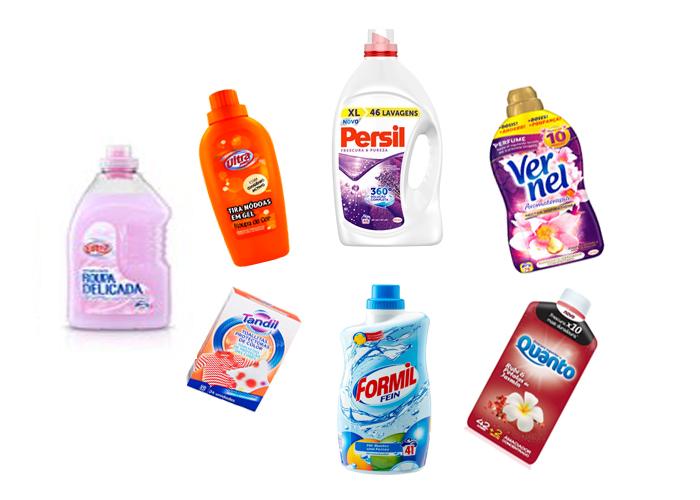 lavar roupa detergente melhor oxi lidl aldi pingo doce persil vernel toalhitas desbotar