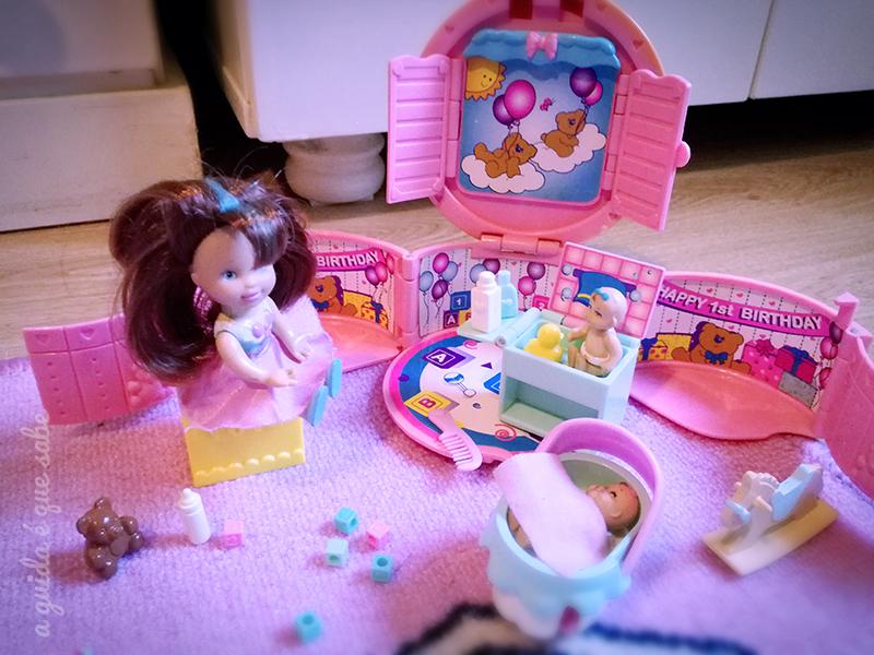 miss party surprise baby doll boneca brinquedos toys vintage 90s