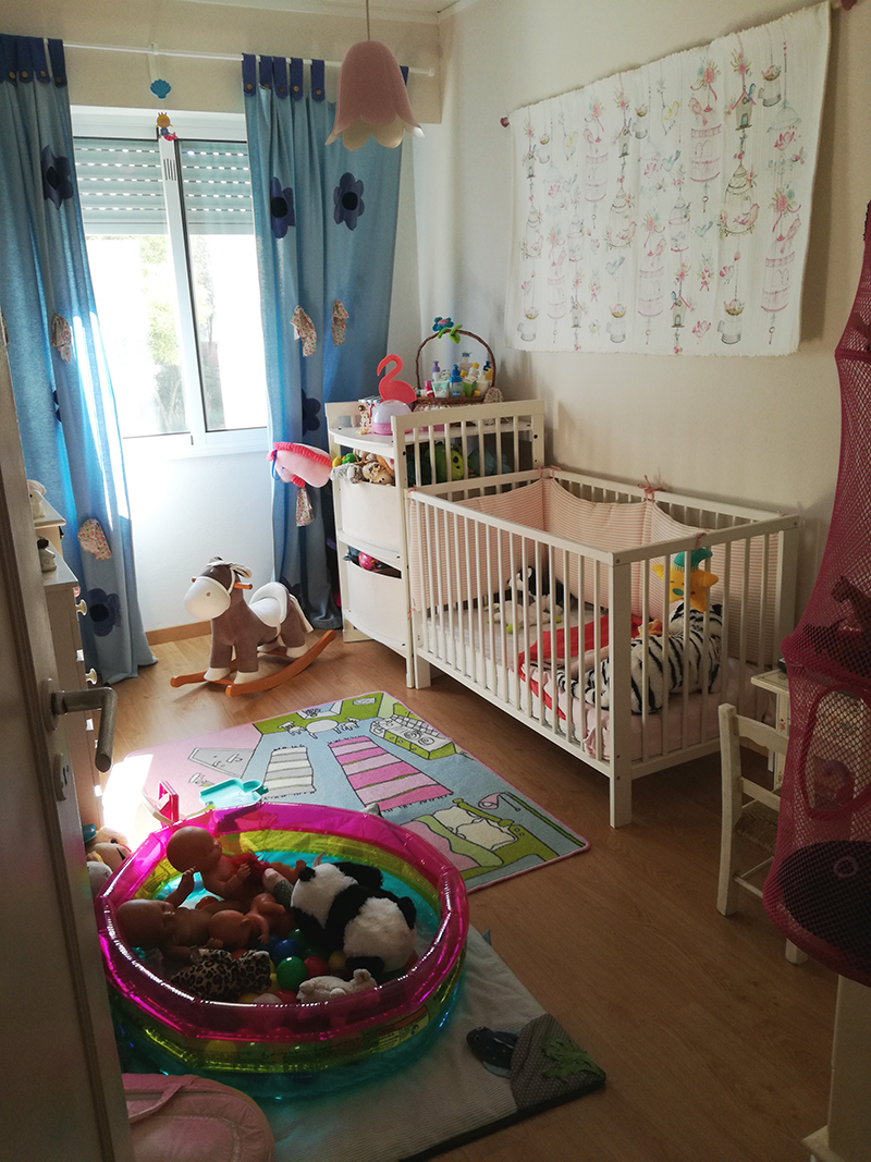 quarto bebé menina casa decoração home decor toddler montessori