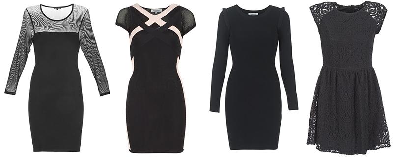 vestido preto vestidos lbd spartoo moda blog fashion