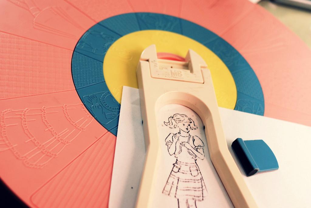 fashion wheel brinquedo vintage roda moda