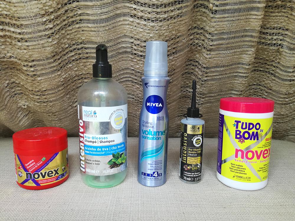 produtos de cabelo review novex embelleze real natura