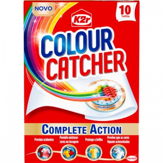 k2r colour catcher toalhitas cor youzz