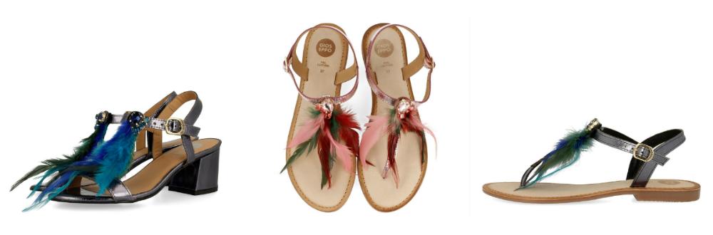 sandálias gioseppo