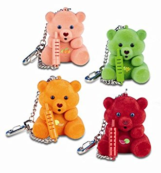porta-chaves urso lovable bears anos 90