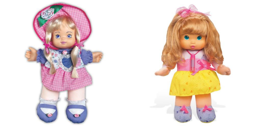bonecas anos 90 kátia beijinhos rosinha carlota cambalhota concentra