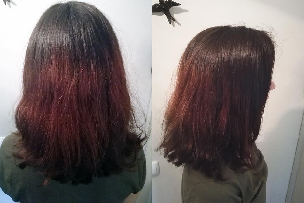 cabelo mal descolorado laranja cronograma capilar