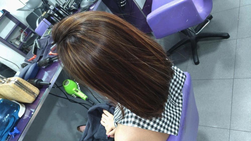 trabalho técnico she cabeleireiros madeixas balayage