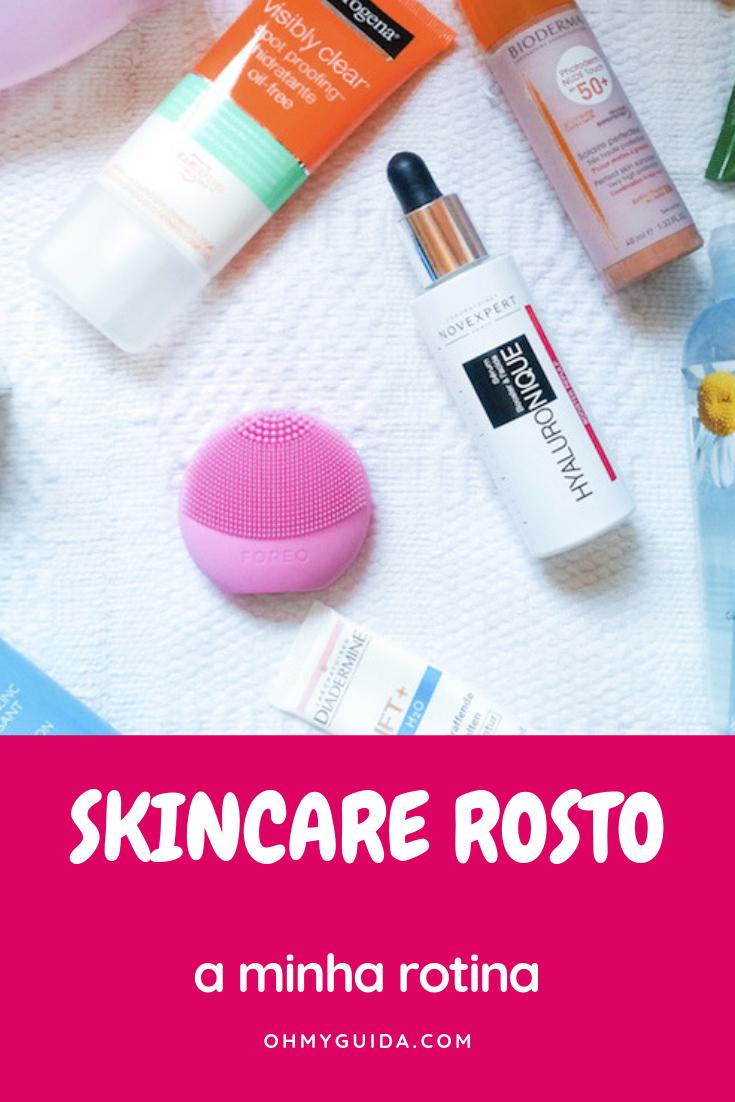 rotina skincare pele mista oleosa sensível foreo