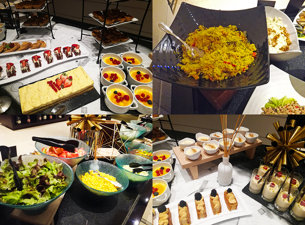 buffet restaurante citrus marriott lisboa